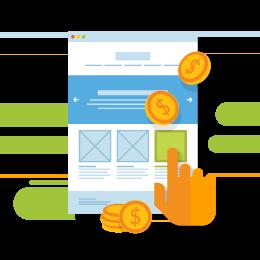 Werbung bei Google - Pay Per Click Infografik